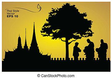 árnykép, buddha