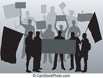 árnykép, emberek, -, 2, fekete, bizonyítás