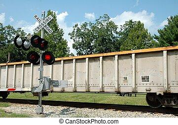 átkelés, vasút