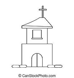 áttekintés, templom