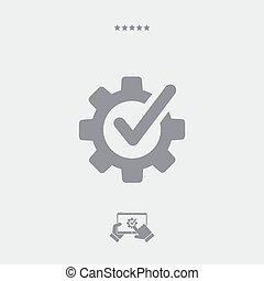 átvizsgálás, lakás, segítség, ikon