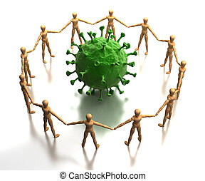 átvizsgálás, vírus