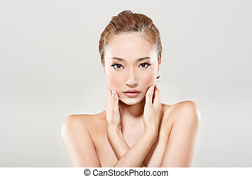 ázsiai, szépség