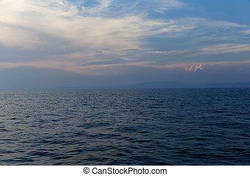 ébred, tenger