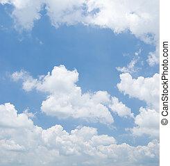ég, napos nap, felhős