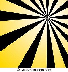 ég, sárga, kitörés