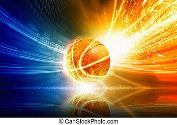 égető, kosárlabda
