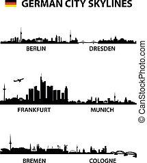 égvonal, németország