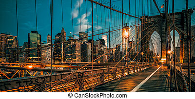 éjszaka, brooklyn bridzs
