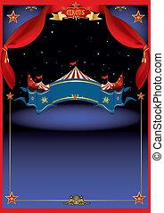 éjszaka, cirkusz, varázslatos