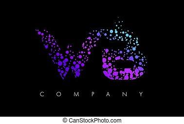 ékezetez, b betű, wb, bíbor, particles, nyugat, levél, jel, buborék