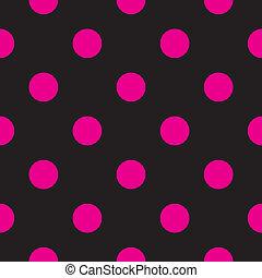 ékezetez, black háttér, vektor, &, rózsaszínű