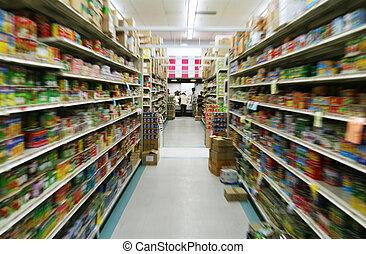 élelmiszer áruház