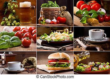 élelmiszer, ital, gyűjtés