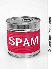 élelmiszer, spam