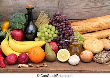élelmiszerek, különféle