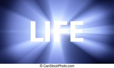 élet, megvilágít