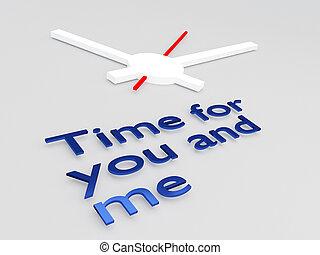 én, ön, fogalom, idő