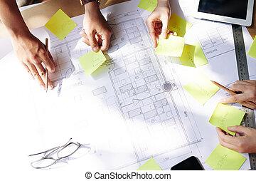 építész, tervezés, munka