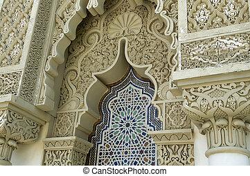 építészet, marokkói