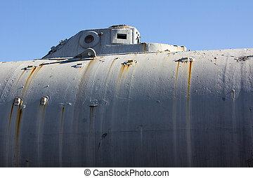 épít, tengeralattjáró, történelmi, 1888, isaac, peral
