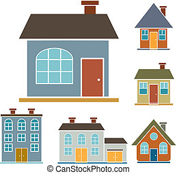 épület, 4, család