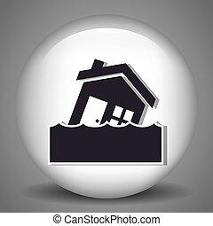 épület, biztonság, biztosítás