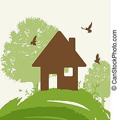 épület, eco-friendly