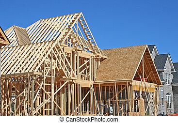épület szerkesztés