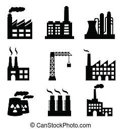 épületek, ipari