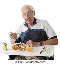 étkezés, kórház