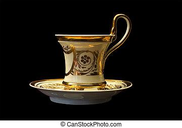 étkezde, csésze csészealj