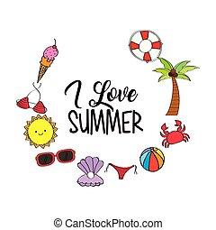 évszaki, nyár, időjárás