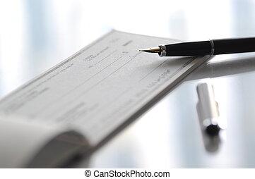 írás, ellenőriz, előkészít