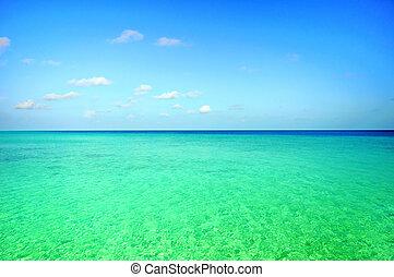óceán, színhely