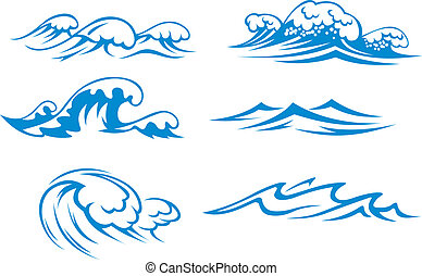 óceán, tenger, lenget