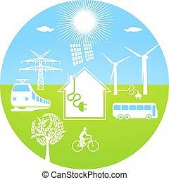 ökológiai, energia