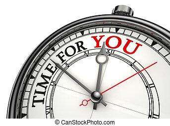 ön, fogalom, idő óra