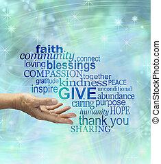 örömöt szerez, generously, ad