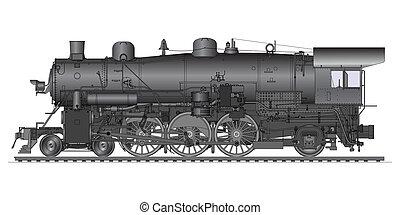 öreg, lokomotív