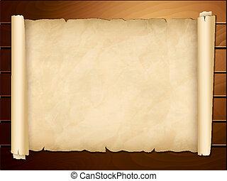 öreg, papirusz