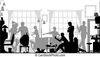 összejövetel, család