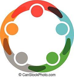 összeköttetés, társadalmi, hálózat, emberek