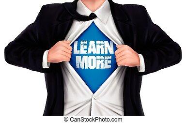 övé, ing, kiállítás, alul, szavak, tanul, üzletember, több