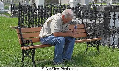 özvegyember, temető, bírói szék