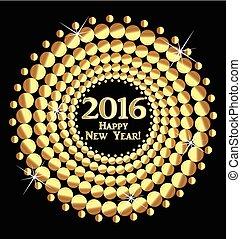 új, 2016, boldog, év
