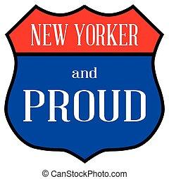új, büszke, yorker