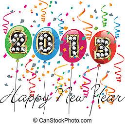 új, boldog, 2013, év