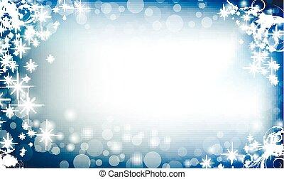 új, karácsony, háttér, év