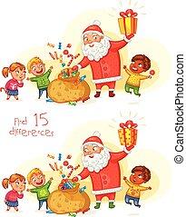 új, vidám christmas, vidám, év